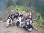 Gruppenfoto Machu Picchu